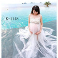 2016 Gown dress Gauze Studio Maternity Photography Props Pregnant Women Long Dress Photo Shoot Fancy costume JL-1