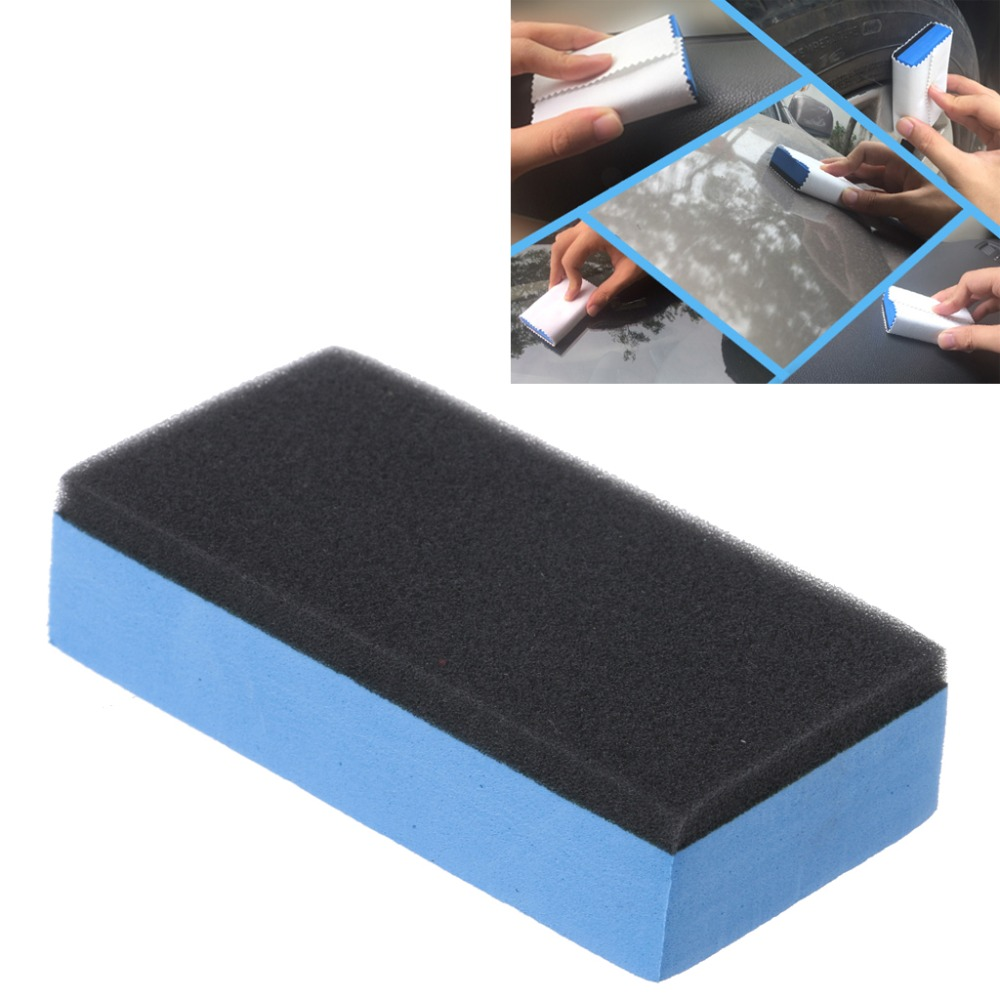 Auto Car Polishing Wax Sponge Car Wash Cleaning Tools Paint Care Accessorie A11