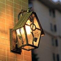 Европейский открытый настенный светильник водостойкий сад свет сад вилла Настенные светильники проход коридор балкон наружная дверь ламп