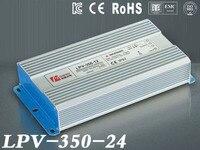 DC 24 В 350 Вт IP67 Водонепроницаемый светодиодный драйвер, открытый использования для Светодиодные полосы питания, Освещение трансформатор, мощ...