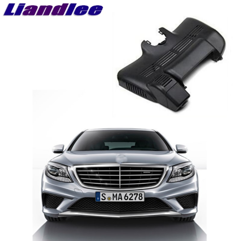 Liandlee For Mercedes Benz S MB W222 2013~2018 Car Black Box WiFi DVR Dash Camera Driving Video Recorder