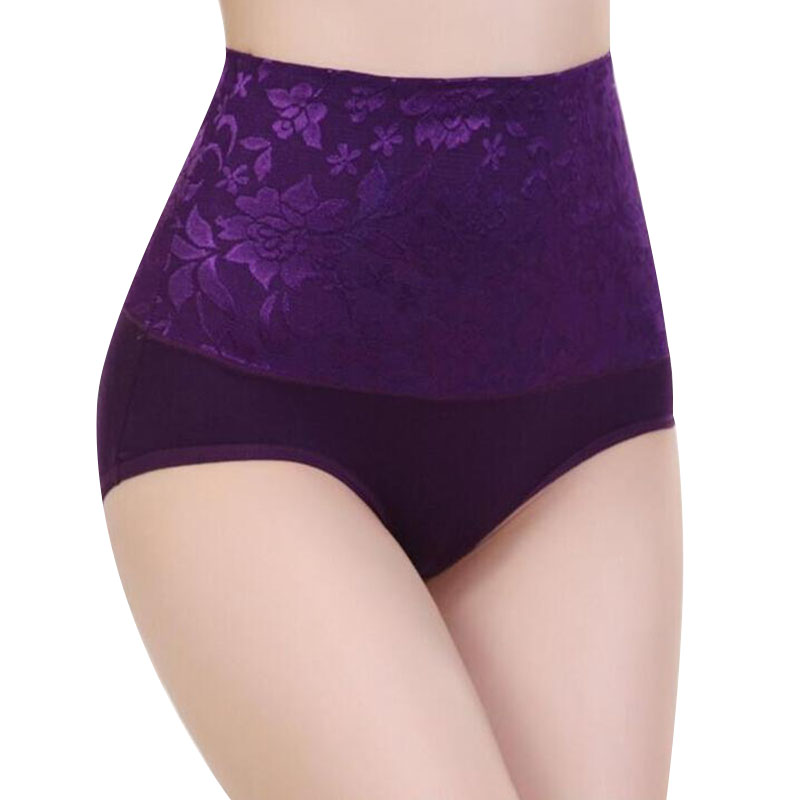 ZW90 Women Modal   Panty   High Waist Breathable Trigonometric   Panties   Plus Size Female Underwear Body Shaping Briefs Dropship