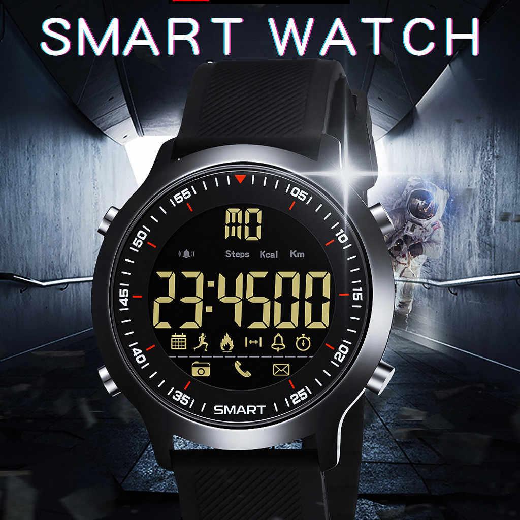 NEUE Luxus Marke Herren Sport Uhren Chrono Countdown-Männer 50M Wasserdichte Digitale Uhr military Uhr Mode smart watch