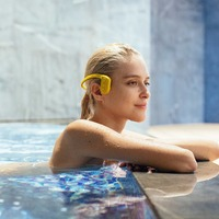 Tayogo Bluetooth Bone Conduction Headphone With Pedometer FM Underwater IPX8 100 Waterproof MP3 Music Player For