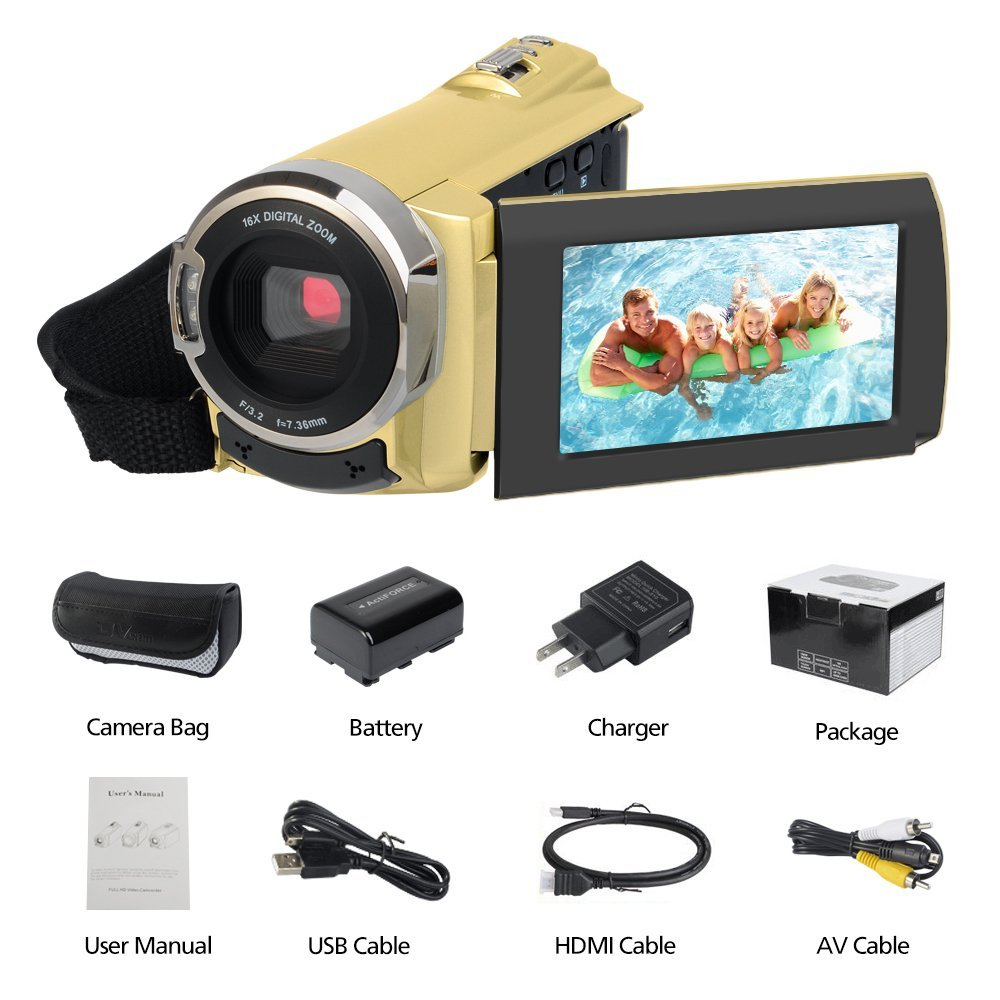 Original DV camera 1080P HD With Wifi Infrared Night Vision Touch LED Camera 3.0 inches TFT LCD Viedeo Recorder Camcorder brand new 5 5 inches lcd with touch