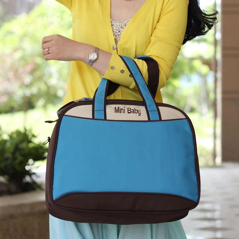 बच्चे की देखभाल फैशन जादू रंग डायपर बैग जीवाणुरोधी बहुक्रियाशील मातृत्व माँ पैर की अंगुली कंधे बैग माँ घुमक्कड़ बैग