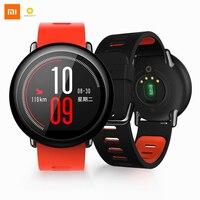 Английская версия Xiaomi AMAZFIT темп Huami для Mifit Смарт часы bluetooth gps умные часы предмет одежды устройства сердечного ритма Android IOS