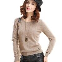 Autumn Winter Womens Pullover Sweater 2015 Women O Neck Long Sleeve Women S Cashmere Sweater Female