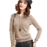 Autumn Winter Womens Pullover Sweater 2015 Women O Neck Long Sleeve Women S Cashmere Sweater Female