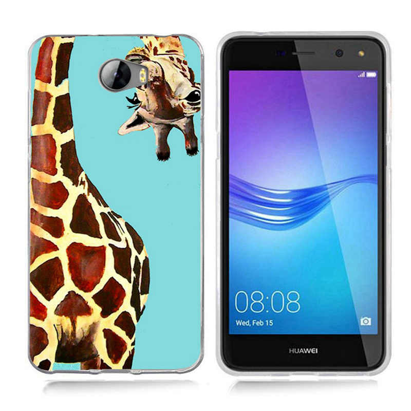 Para Huawei P8 Lite Y5 ii Y5ii Cover/5A LYO-L21/Y6 II Moda Amantes Dos Desenhos Animados de Mickey Mouse Minnie capa mole TPU caso de silício A800