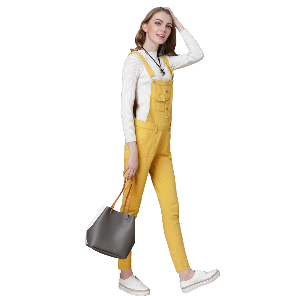 e49221053d83 ... jumpsuits-for-women-2018 yellow-overalls summer-overalls overol-mujer  ...