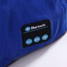 8 Colors Baseball Cap Wireless Bluetooth Smart Cap Headset Headphone Speaker Mic Cap