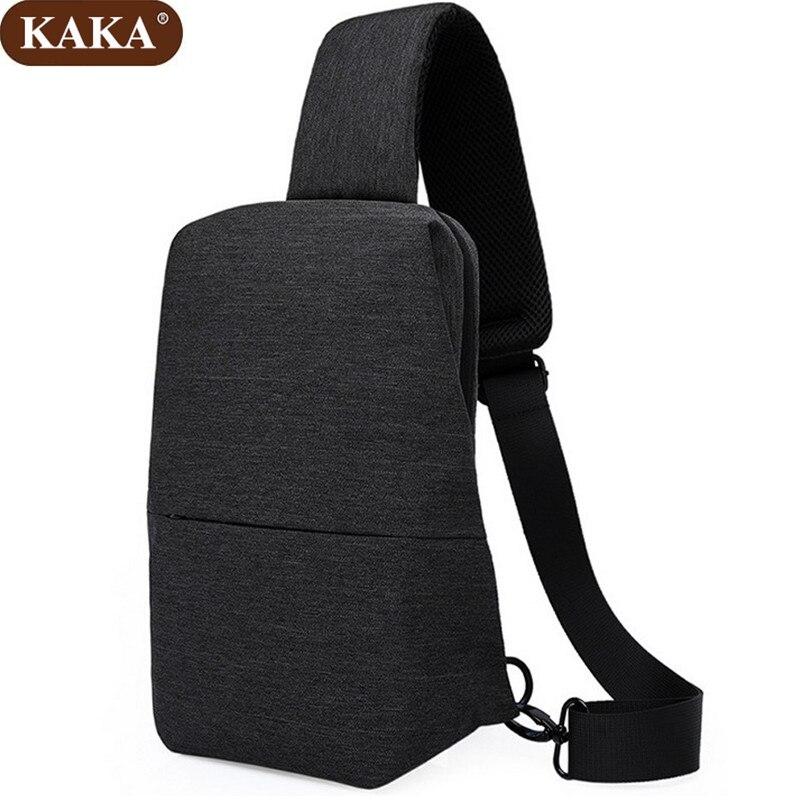 KAKA Fashion New Single Shoulder Bag Men Chest Pack Casual