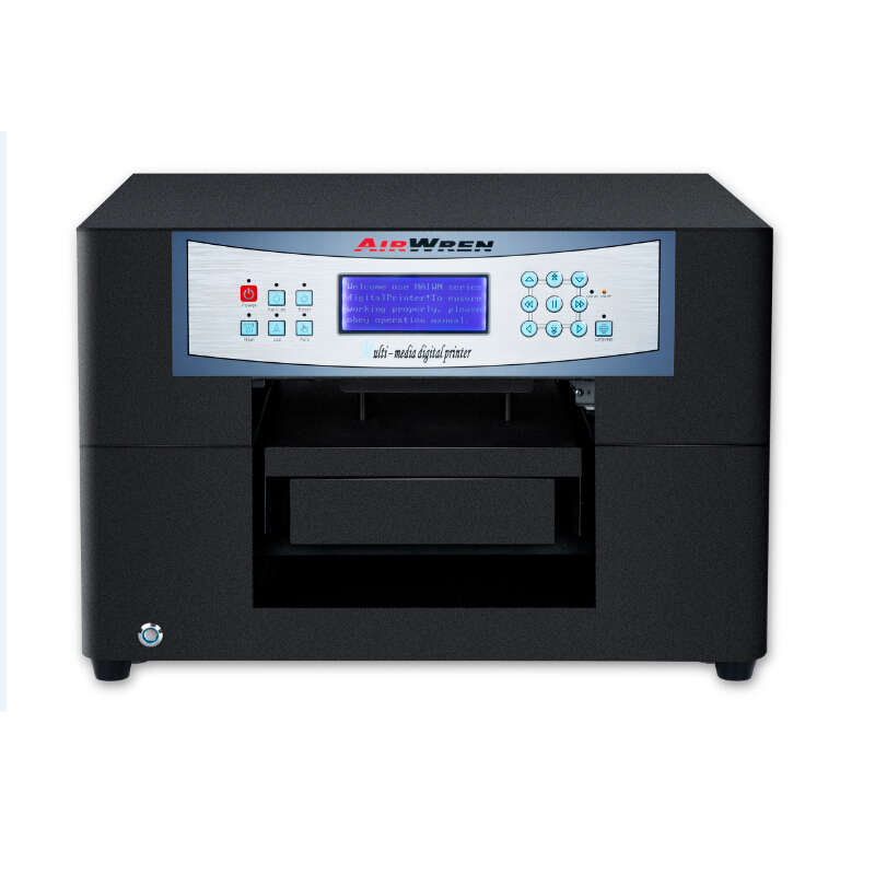 A4 size 6 color direct to garment dtg t shirt printer t for Computerized t shirt printing machine