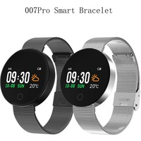 007PRO Smart Bracelet 0 96 Inch TFT Bluetooth 4 0 Heart Rate Monitor Blood Pressure IP67