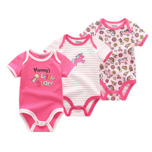 Kids Baby Girl Clothes Set Rompers 0-12M