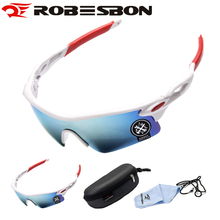 ROBESBON Anti-UV Bicycle Sunglasses Cycling Glasses Bike Goggles Ultra-light Riding Outdoor Sports Eyewear Men Women 11 Style