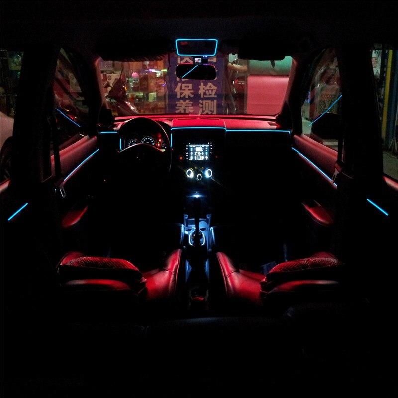 3 metres Decoration 12V Auto Car Interior font b LED b font font b EL b