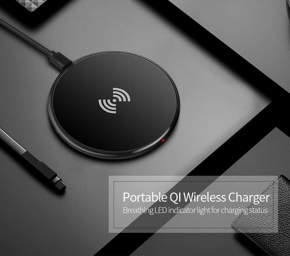 Slim For Apple iPHONE XR XS MAX XS Qi Wireless Charger For iPhone X 8 Plus Desktop Direct Wireles Charger Dock Adapter Mat