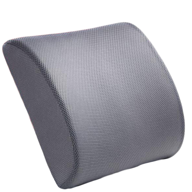 Newest Memory Foam Lumbar Back Support Cushion Pillows For Home Car