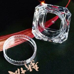 Image 4 - Wholesale 5g (5ml, 0.17oz) Clear 100Pcs Cosmetic Empty Jar Pot Eyeshadow Makeup Face Cream Lip Balm Container Box (Diamond)