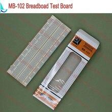 MB-102 непаянный прототип макетная плата MB102 DIY разработка тест PCB шаг: 2,54 мм 830 Tie Point печатная плата