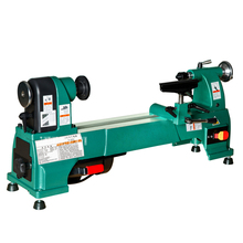 H0624 Electric Woodworking Lathe Household 10 Inch Speed-regulating Lathe Wooden Crafts Processing Woodworking Lathe 220V 750W