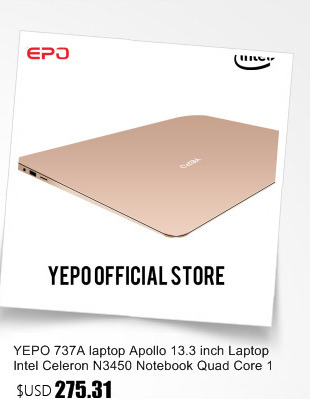 YEPO Notebook Computer 15.6 inch 8GB RAM DDR4 256GB/512GB SSD 1TB HDD intel J3455 Quad Core Laptops With FHD Display Ultrabook 37