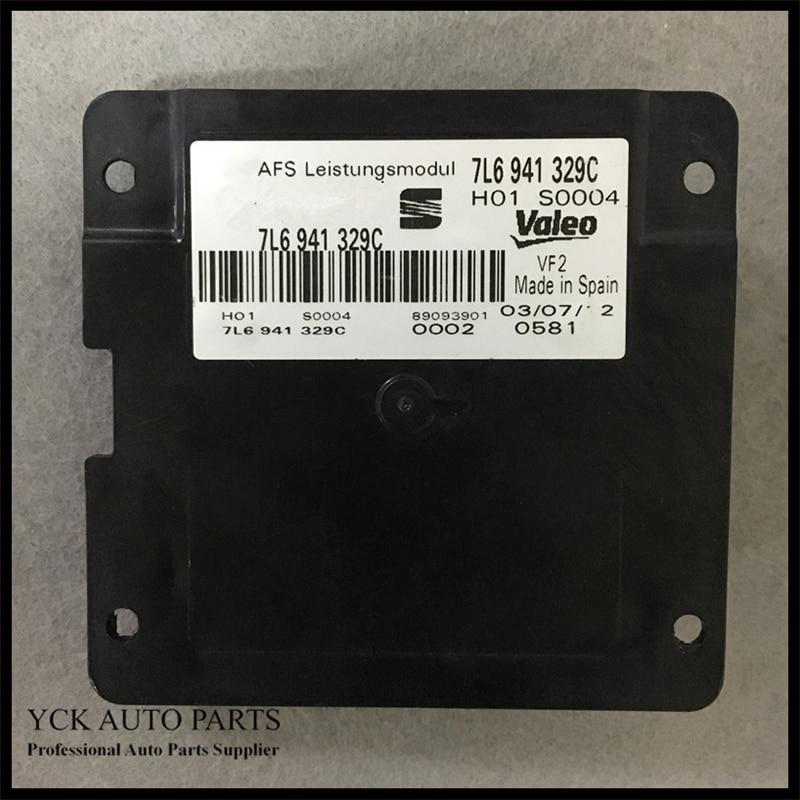 1PC Original AFS Leistungsmodul Adaptive Frontlighting System 7L6 941 329C 7L6941329C  89093901 (Genuine and Used) 1pc original afs leistungs module 3td941329 3td 941 329 genuine and used