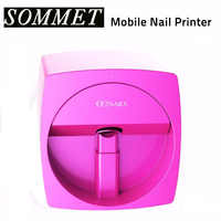 Free Shipping Nail Printer Machine 1 nail printing Manicure Transmission Picture Using Phone O2 nails