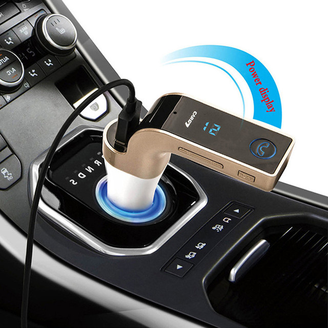 * DSYCAR 2017 New Wireless In-Car Bluetooth kit FM Transmitter TF Music Player USB charger For Iphone xiaomi Bmw Lada Opel Toyot