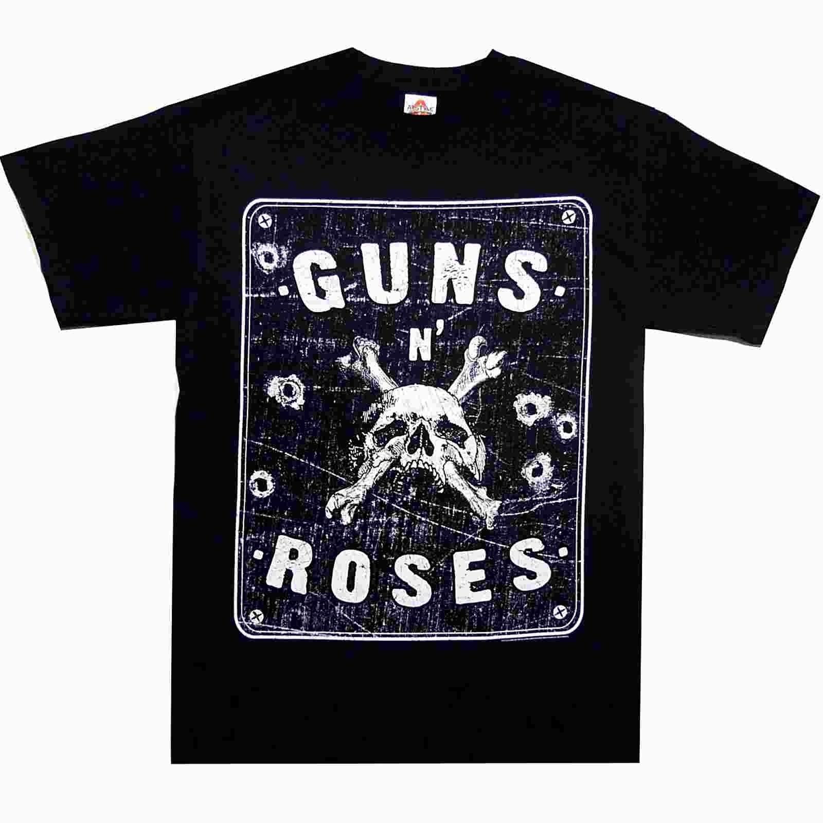 Guns N Roses Street Sign S M L XL Official T-Shirt Rock Band Tshirt New