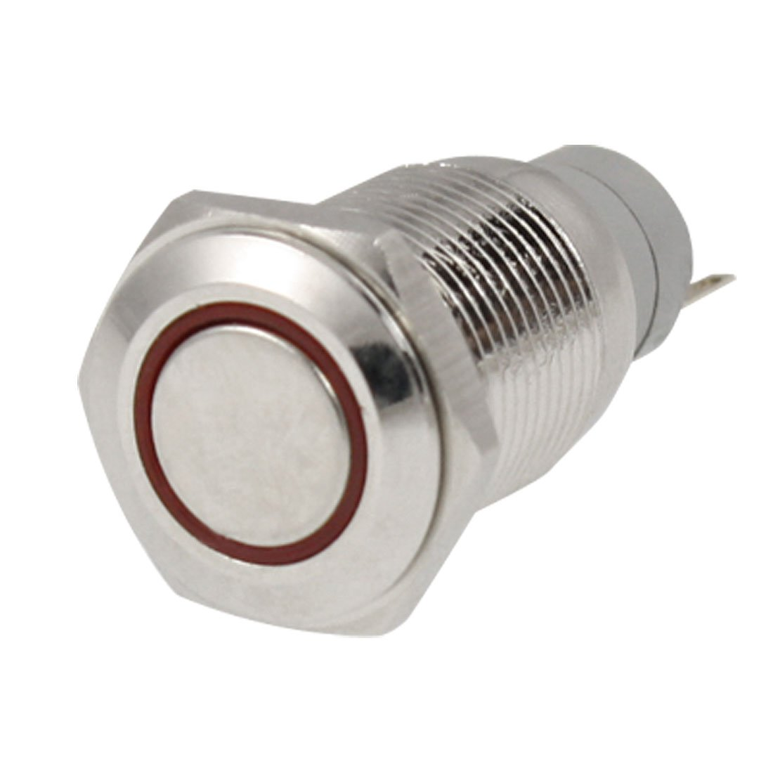 popular momentary push button switch buy cheap momentary push jfbl 2x angel eye red led light 16mm 12v metal momentary push button switch