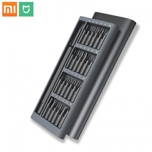 Оригинальный набор отверток Xiaomi Mijia Wiha для ежедневного использования 24 прецизионные магнитные биты отвертка AL Box Умный домашний набор xiaomi 2018