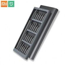 オリジナルxiaomi mijiaメーカー毎日使用するドライバーキット24精密磁気ビットalボックススクリュードライバーxiaomiスマートホームセット2018