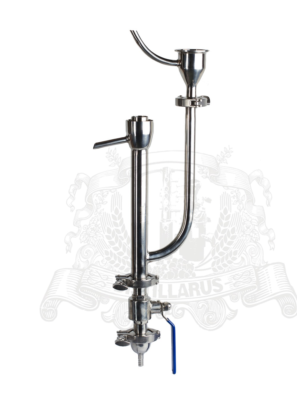 Tri clamp Parrot connection 2 OD64 stainless steel 304