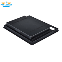 19 19 Inch LED Industrial Panel PC with 5 Wire Resistive Touch Screen Windows 7/10/Linux Ubuntu Intel Celeron 3855U Partaker Z16T (4)