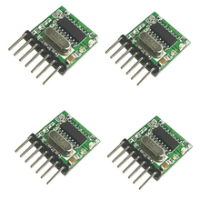 433Mhz Superheterodyne RF transmitter Encoding module EV1527 2262 Coding 4 channel Wireless  Remote control  WL102-341*4pcs
