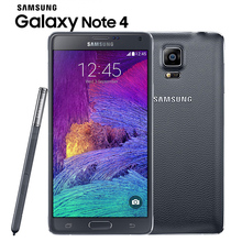 Original Unlocked Samsung Galaxy Note 4 N910 N9100 LTE 4G Mobile Phone 16.0MP 5.7″ NFC 3GB RAM 16G/32GB ROM Android Smartphone