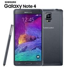 "Orijinal Unlocked Samsung Galaxy Not 4 N910 N9100 LTE 4G Cep Telefonu 16.0MP 5.7 ""NFC 3 GB RAM 16G/32 GB ROM Android Smartphone"