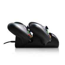 Dual Charging Dock Charger Station Stand+2pcs Rechargeable Replacement Batteries Battery+USB