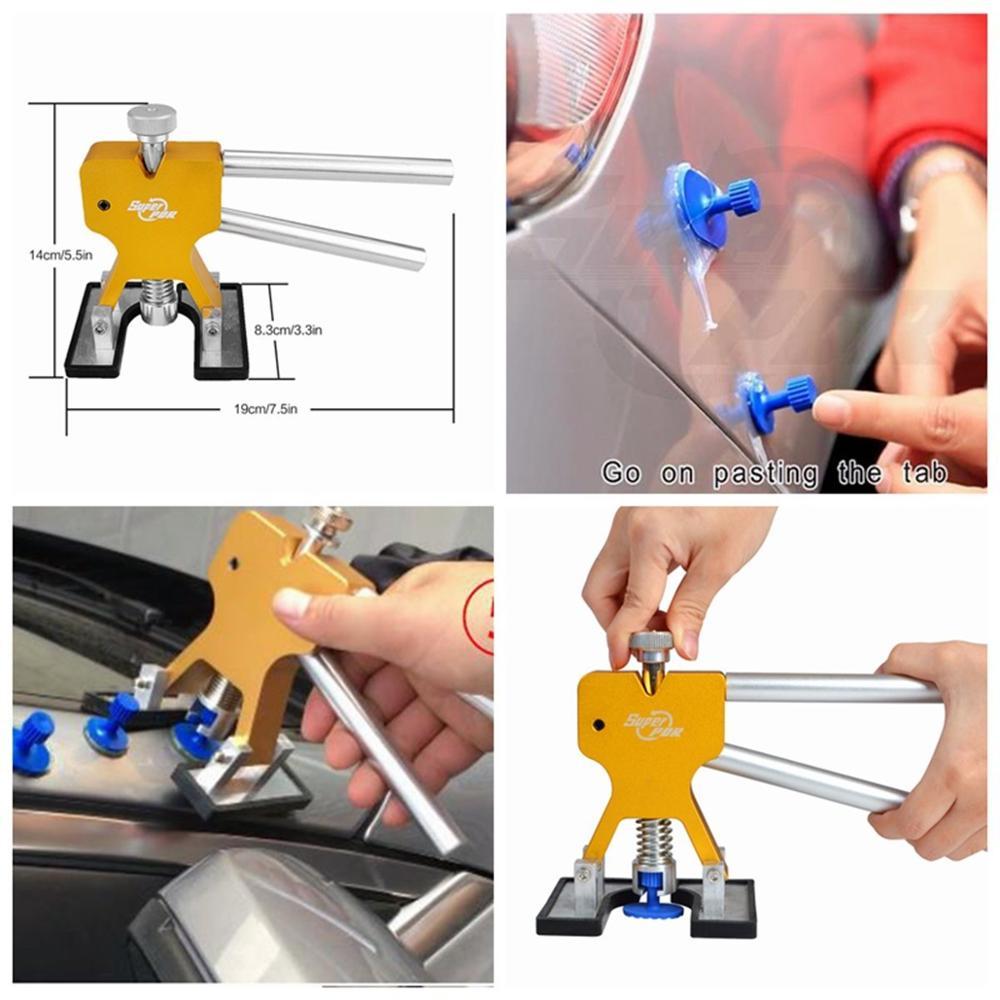 Narzędzia PDR Bezbarwne narzędzia do naprawy wgnieceń Usuwanie - Zestawy narzędzi - Zdjęcie 5