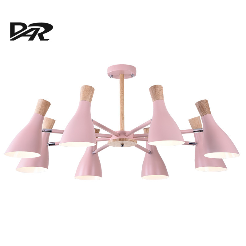 DAR Modern Led Chandelier Semiflush Mount 3/6/8 Heads Chandeliers Luminaria Light Fixtures 90-260v Ceiling Chandelier Lighting robot unicorn sound control interactive unicorn electronic toys plush pet unicorn toy walk talk toys for children birthday gifts