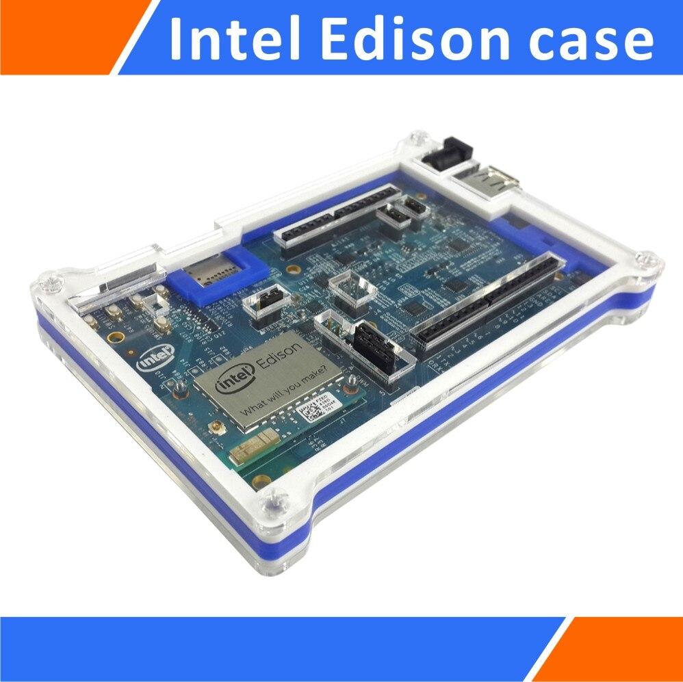 Acrylic Case Enclosure Box Compatible With Intel Edison DevBoard