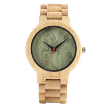 2017 Designer Forest Style Full Wooden Watches for Men Bamboo Bangle Simple Casual Handmade Quartz Wristwatch Analog Fold Clasp