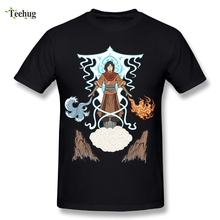 Awesome Anime The Last Airbender T Shirt 3D Print Men's The Legend of Korra Cotton T-Shirt Unique Design Avatar T-Shirts t l williams the last caliph