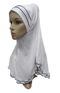 Image 5 - מוסלמי נשים ילדה עמירה ציצית צעיף חיג אב לעטוף ראש כיסוי מלא כובע צעיף אסלאמי ערבי צוואר כיסוי תפילת כובע טורבן מטפחת חדש