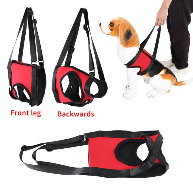 TAILUP 2Types Front & Rear Dog Support Harness Walking Aid Lifting