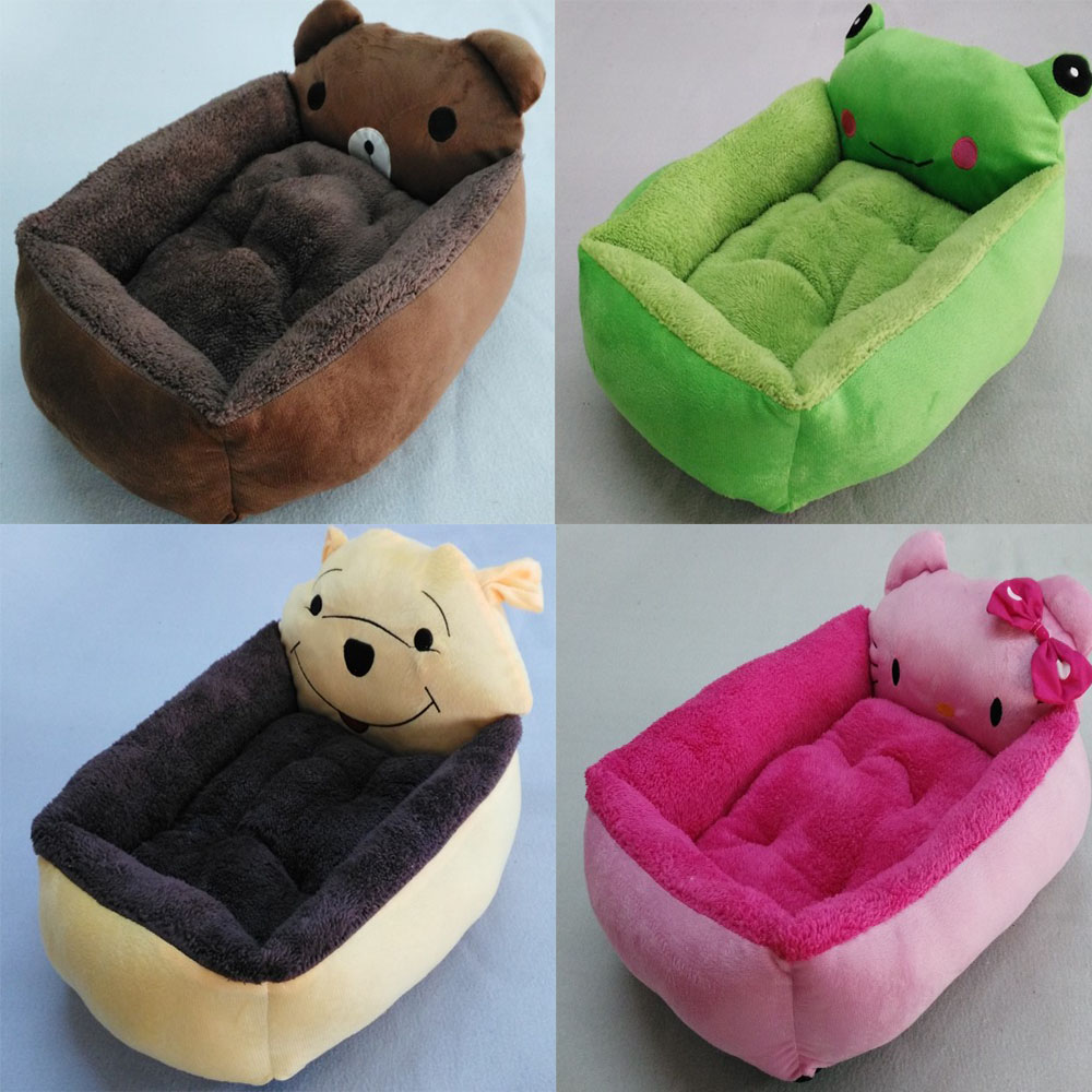 New PP Cotton Dog Bed Animal Cartoon Shaped Pet Dog Sofa ...