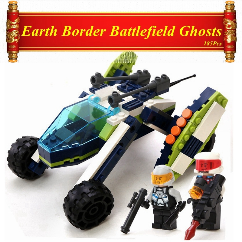 Capable 185pcs Earth Border Battlefield Ghosts Compatible Legoing Military Building Blocks Toys Children Legoing Juguetes Brinquedos Toy Toys & Hobbies Model Building